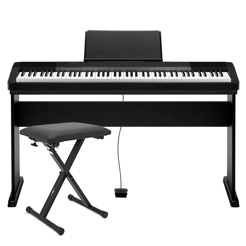 88 Key Casio CDP-130 Electronic Keyboard Piano Organ 10 Tones 5 Songs  Metronom
