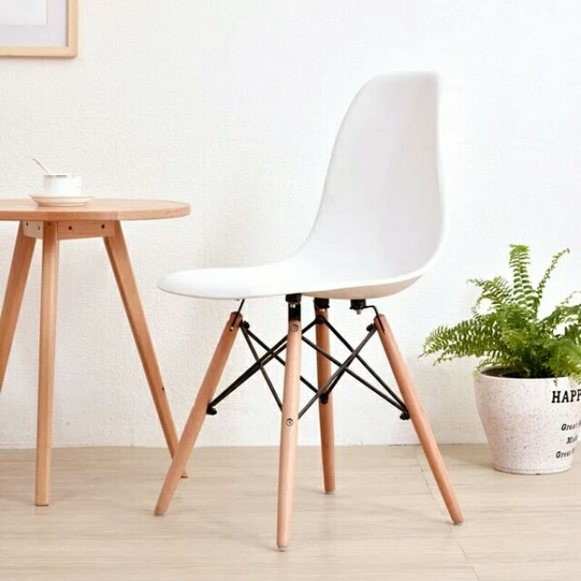 Strange Best Buy Ready Stock Design Eames Chair White Ikea Seat Wood Legs Chair Spiritservingveterans Wood Chair Design Ideas Spiritservingveteransorg