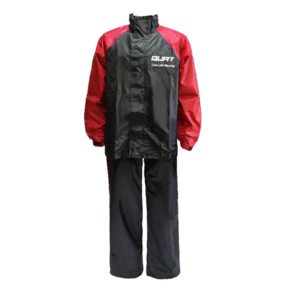 Raincoat QUAT Q22 Daily Range Baju Hujan Motorcycle (RED)