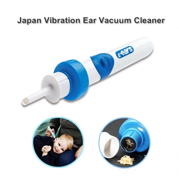 Ear Cleaner Earpick Earwax Remover Deo Cross i-ear Vibration