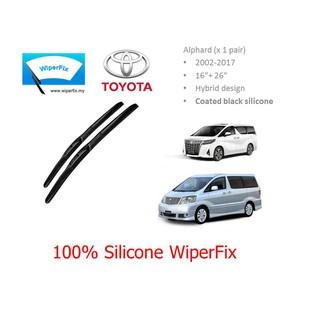 Toyota Wish 2010/2017 - SILICONE WIPER - HYBRID BLADE - WIPERFIX