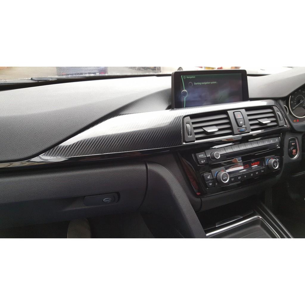 Bmw F30 3 Series Carbon Fiber Interior Trim 9pcs Right Hand Drive Shopee Malaysia