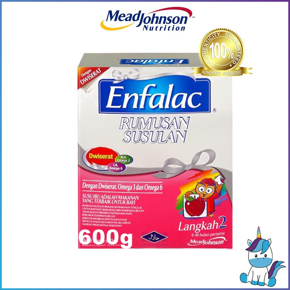 Enfalac Step 2 Regular 600g (Expiry: 07/08/2020)