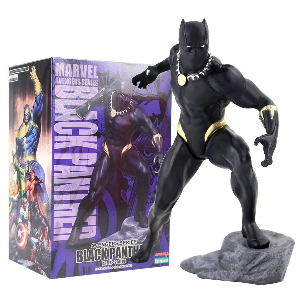 Marvel Action Figure Avengers Black Panther Toys Kotobukiya Artfx Statue 1//10