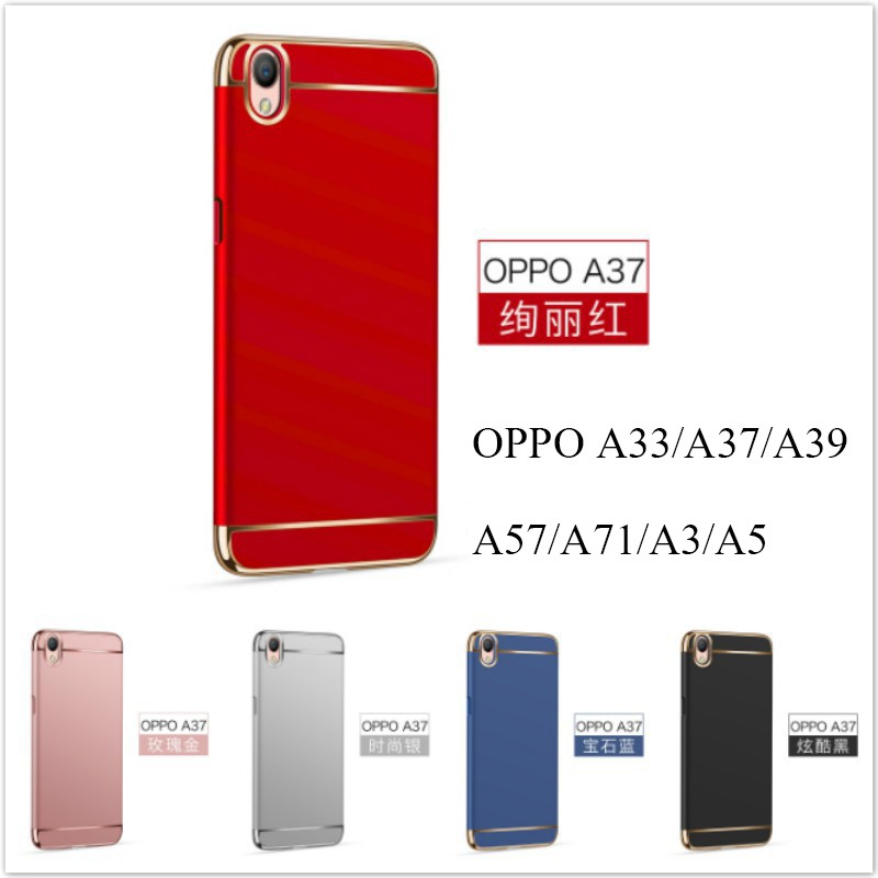 OPPO A3S A5 Luxury Slim Hybrid Kickstand Hard Armor Shockproof Phone Case Cover | Shopee Malaysia