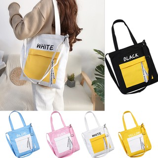 584d3c506a18 Canvas bag female shoulder student cloth bag artistic style hand b/l ...