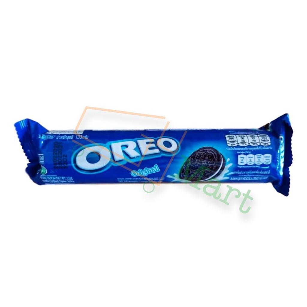 Oreo Sandwich Cookies 133g (Vanilla) - Original Orea