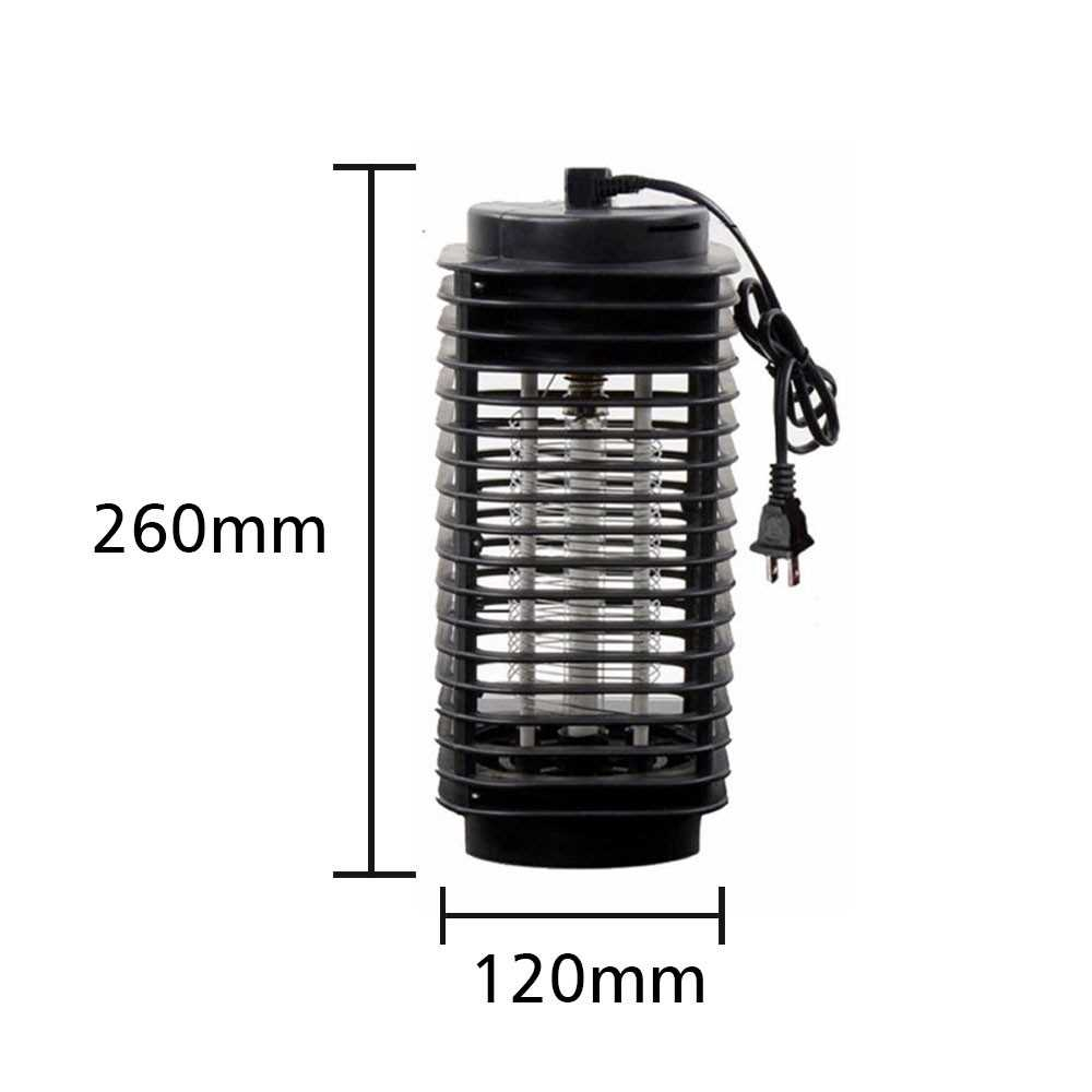 Home ABS Appliance Bug Mosquito Lure Trap Lamp Killer LED Zapper Electric Mosquito Lamp (Eu)