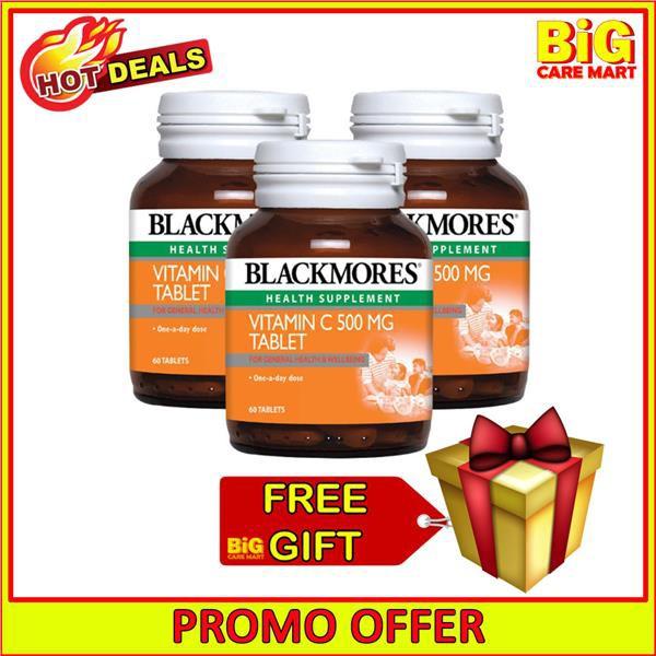 Blackmores Vitamin C 500mg 60s X 3 bottles + FREE GIFT