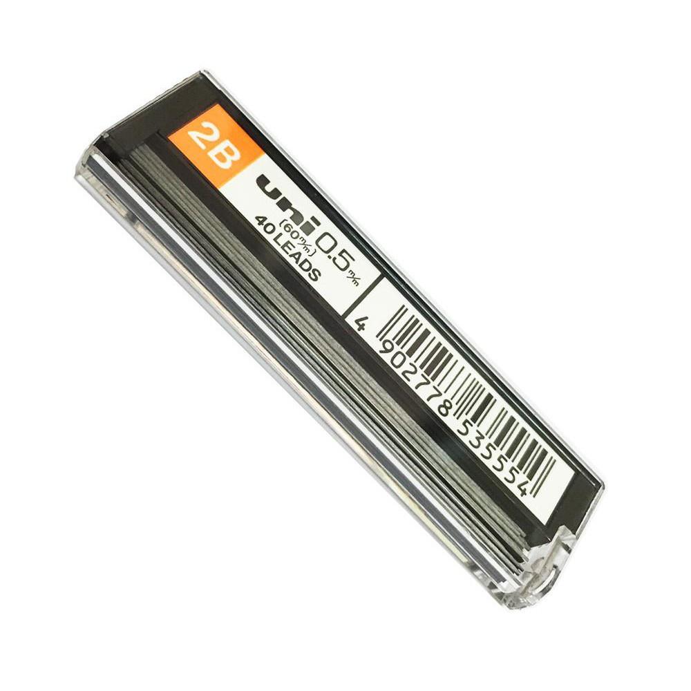 Mitsubishi Uni Pencil Lead Refill 2B (0.5mm)