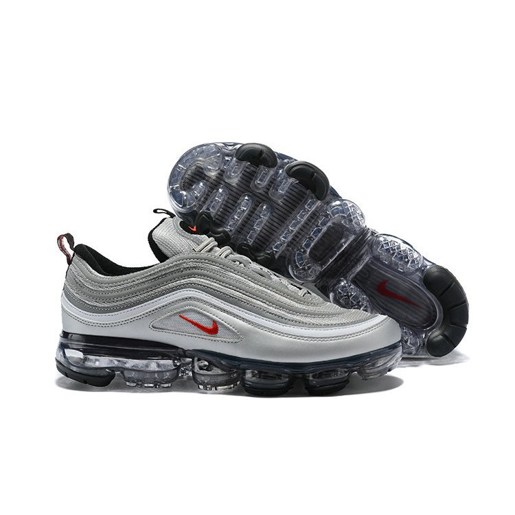 best website 594b5 bc312 2018 Nike Air Max 97 x Air Vapor Max Silver Bullet Casual Shoes Sport  Sneakers