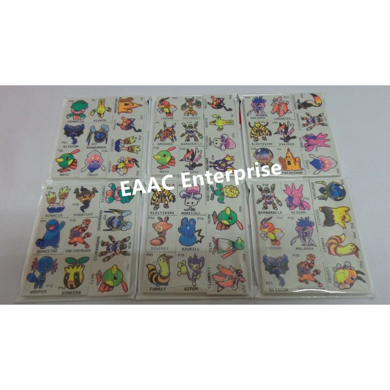 10pcs Cute Design Fancy Erasers Pemadam Pensel