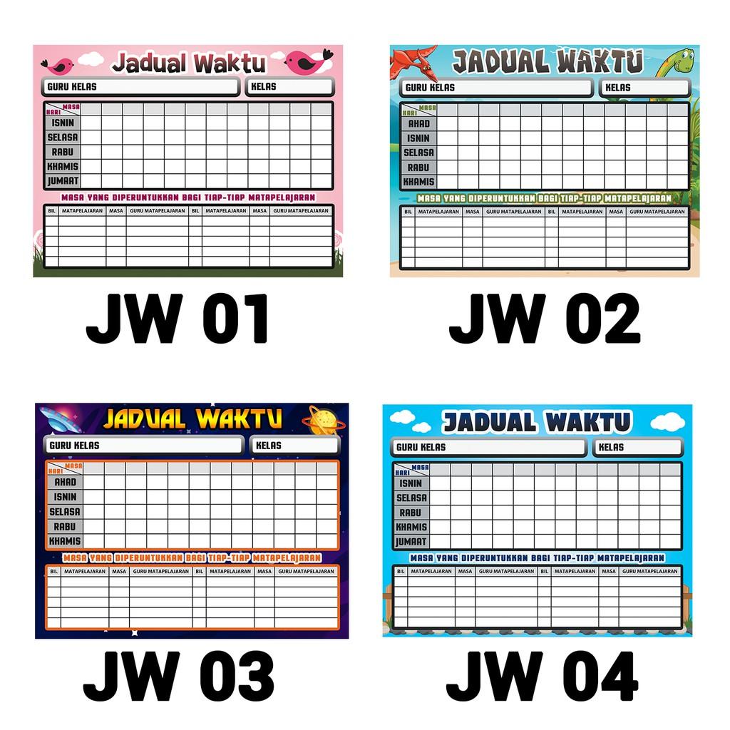 Jadual Waktu Kelas Non Editable Shopee Malaysia