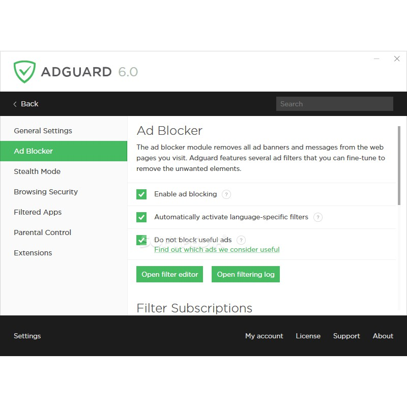 Adguard Premium 7 0 2 (ad blocker) - Full | Shopee Malaysia