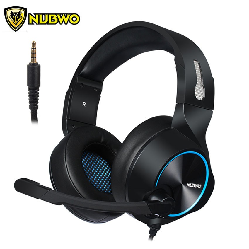 187c9e388b8 NUBWO N2 PS4 Headset 3.5mm Bass Gaming Headphone With Microphone for PC  Computer | Shopee Malaysia