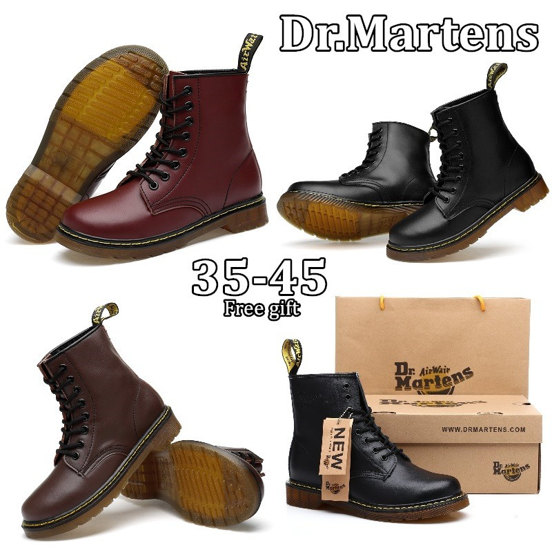 dbd9712bdae 35-45 kasut kulit lelaki Post today Men & Women Dr.Martens Martin Shoes  Real Leather Tooling Shoes