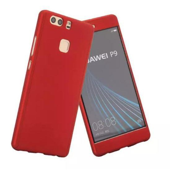 HUAWEI P8 P9 P10 LITE P9 PLUS 360 FULL Protection Tempered Glass Case