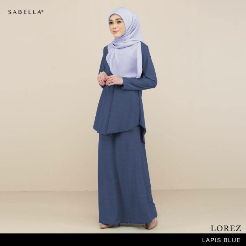 Sabella  Kurung Lorez Available Size M & L [Ready Stock]