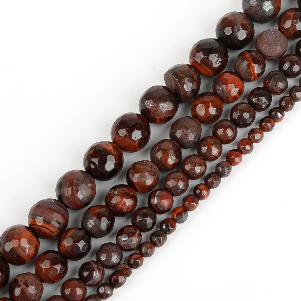Tiger Eye Round Beads 6mm Yellow//Brown 62 Pcs Frosted  Gemstones DIY Jewellery