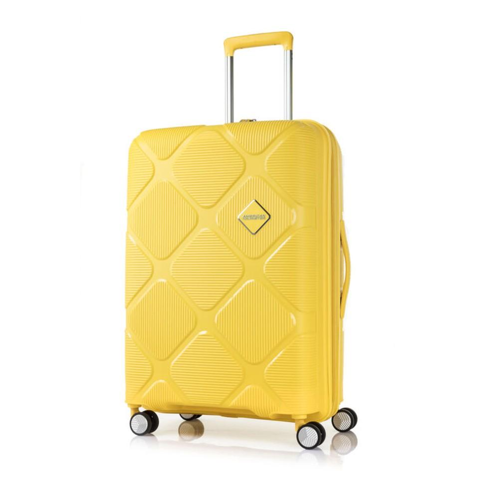 American Tourister  INSTAGON  SPINNER 69/25 EXP TSA-LEMON CHROME