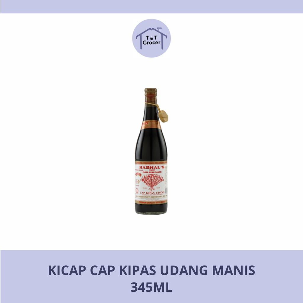 Kicap Cap Kipas Udang Manis (345ml)