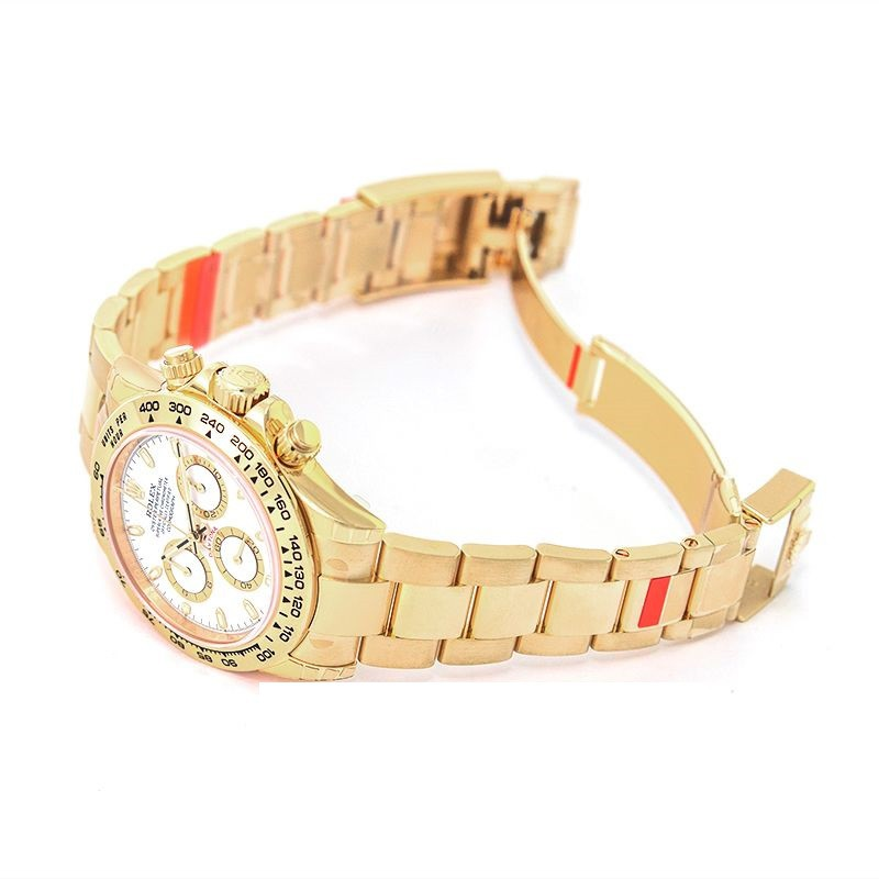 Rolex Cosmograph Daytona Cosmograph Daytona 18ct Yellow Gold Automatic White Dial Men's Watch