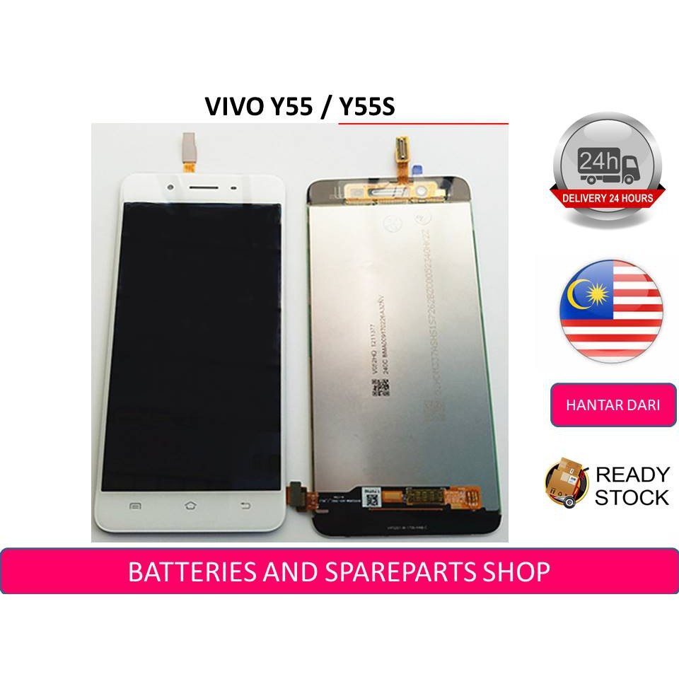 BSS Vivo Y55 Y55S Y55L 1610 Lcd + Touch Screen Digitizer Sparepart Repair