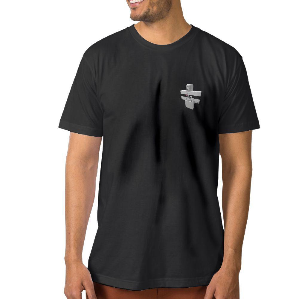 Hoodie Roblox T Shirt Custom Mens Fila Hoodie Roblox T Shirt Summer 100 Cottontee Shopee Malaysia