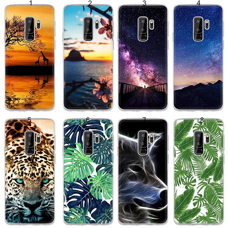 Phone Case for Samsung Galaxy S7 Edge S8 S9 Plus Cover Cute Relief Cartoon