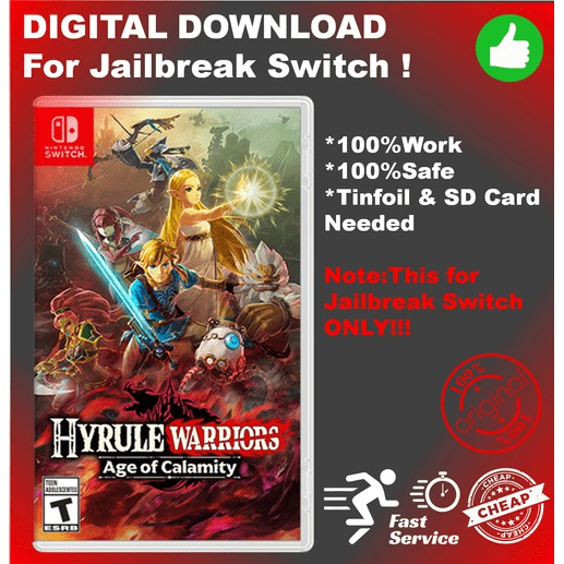 Hyrule Warriors Age Of Calamity Switch Nsp Xci Full Digital Download For Jailbreak Switch Shopee Malaysia