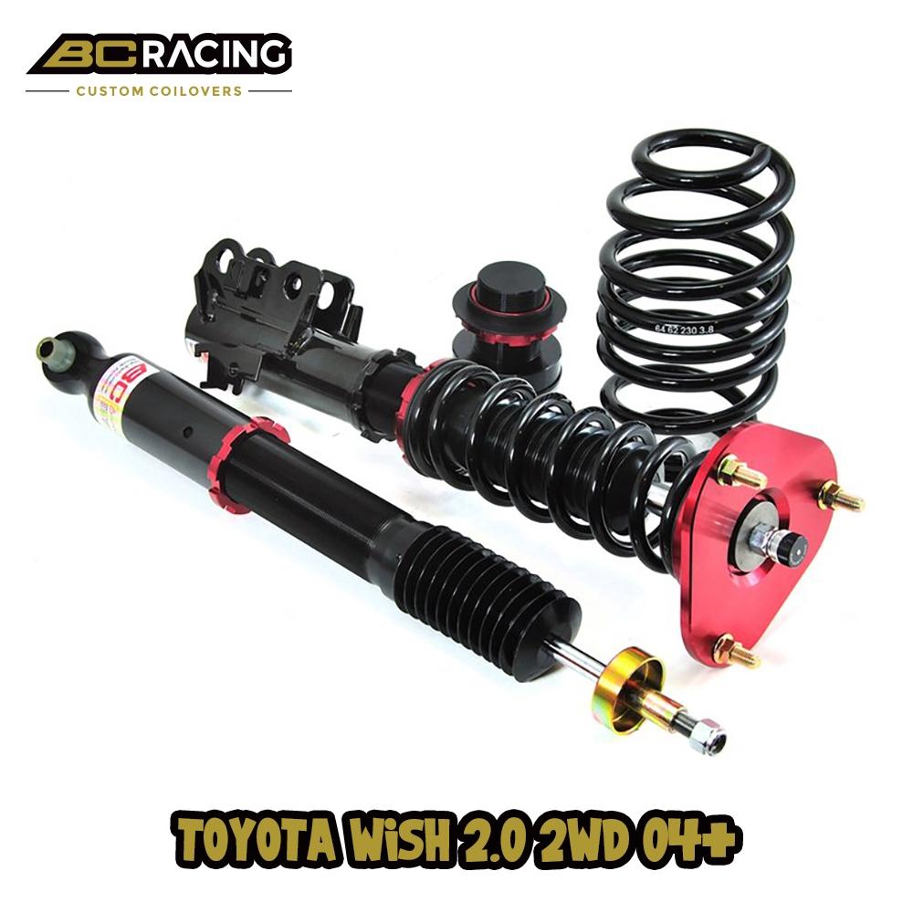 Toyota Wish ZNE14G 2.0 2WD 04+ BC Racing V1 Series Adjustable Suspension
