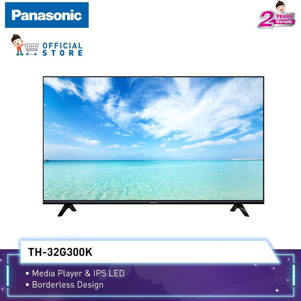 "Panasonic NEW! 32"" G300 Stylish Slim Bezel LED TV TH-32G300K"