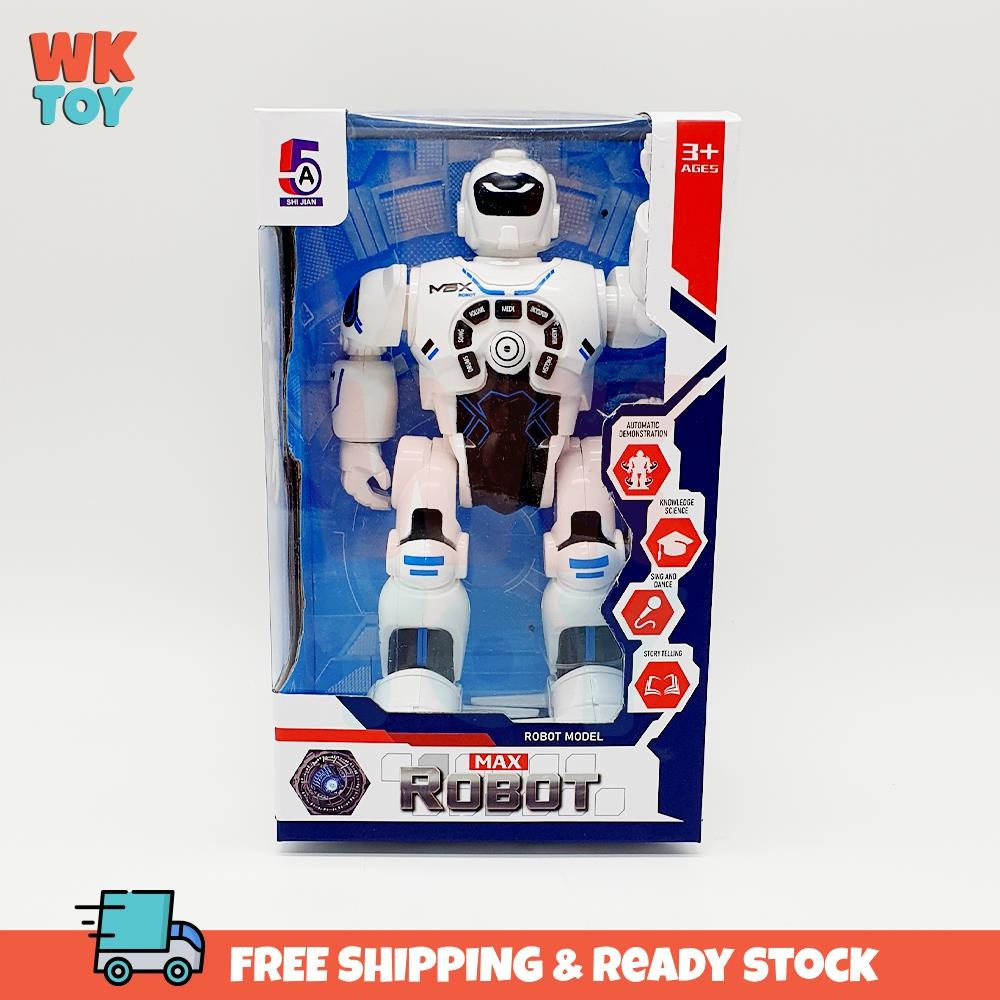 WKTOY RC Remote Robot Max Music Sing Dance Multiple Functions Toy