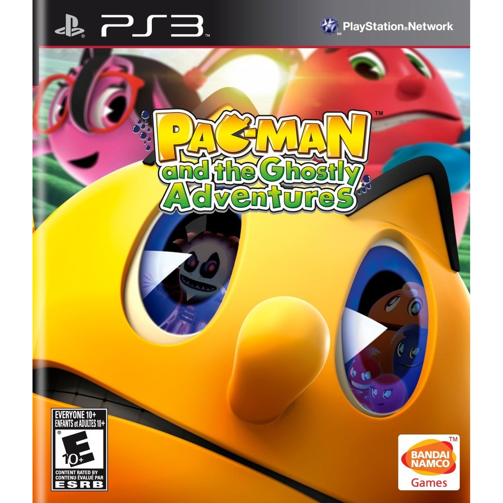 PS3 Pacman And Ghostly Adveture - R3