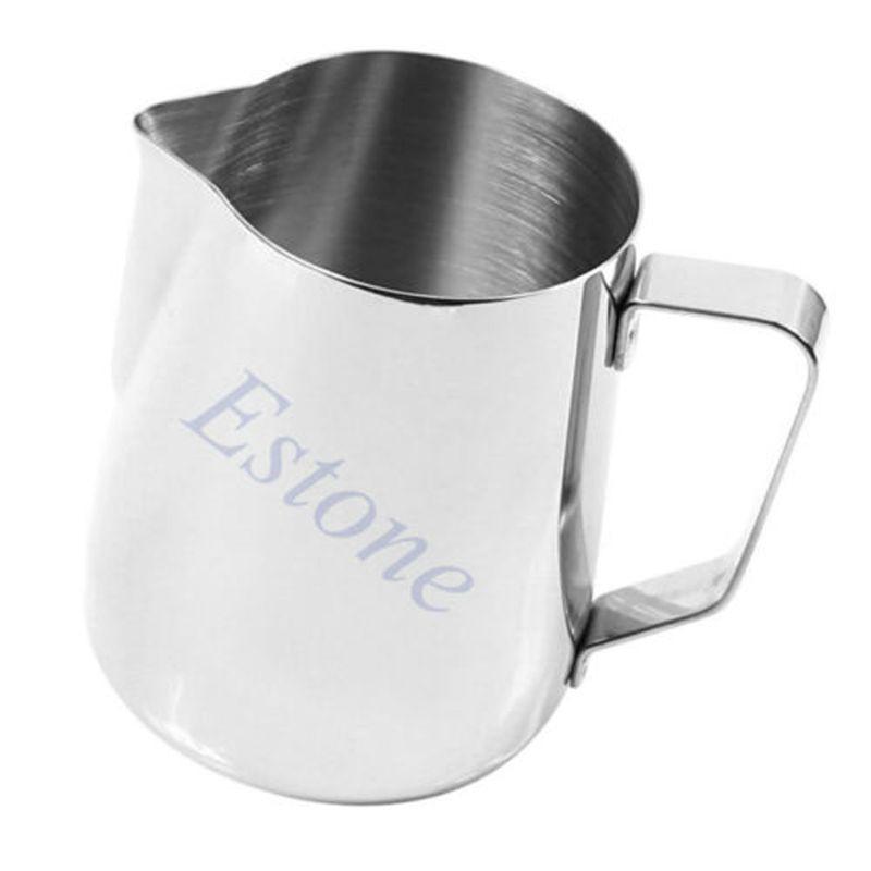 ❤❤ 150ML Kitchen Stainless Steel Coffee Tea Frothing Milk Latte Jug
