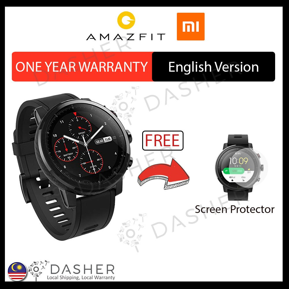 Amazfit Stratos 1 34 Inch Display Xiaomi Huami Pace 2 Mi Watch