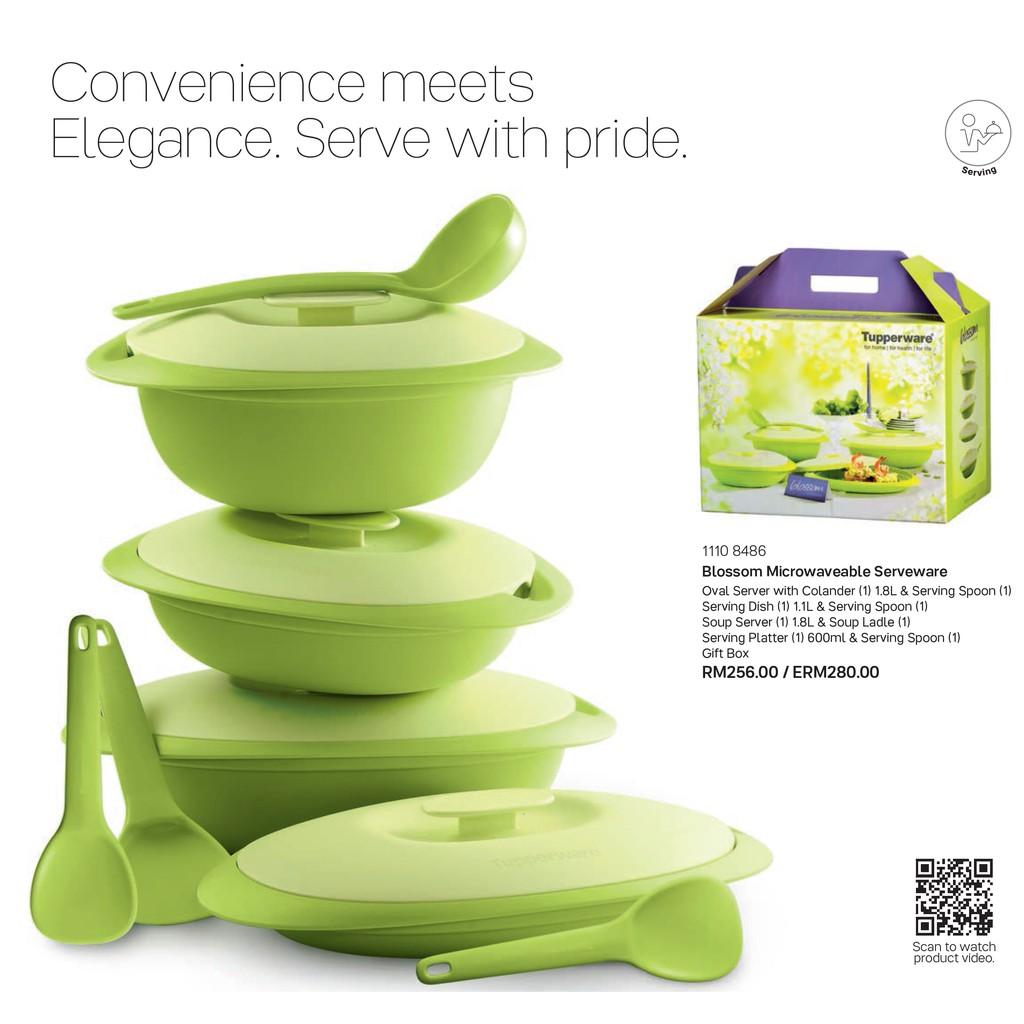 Blossom Microwaveable Serveware
