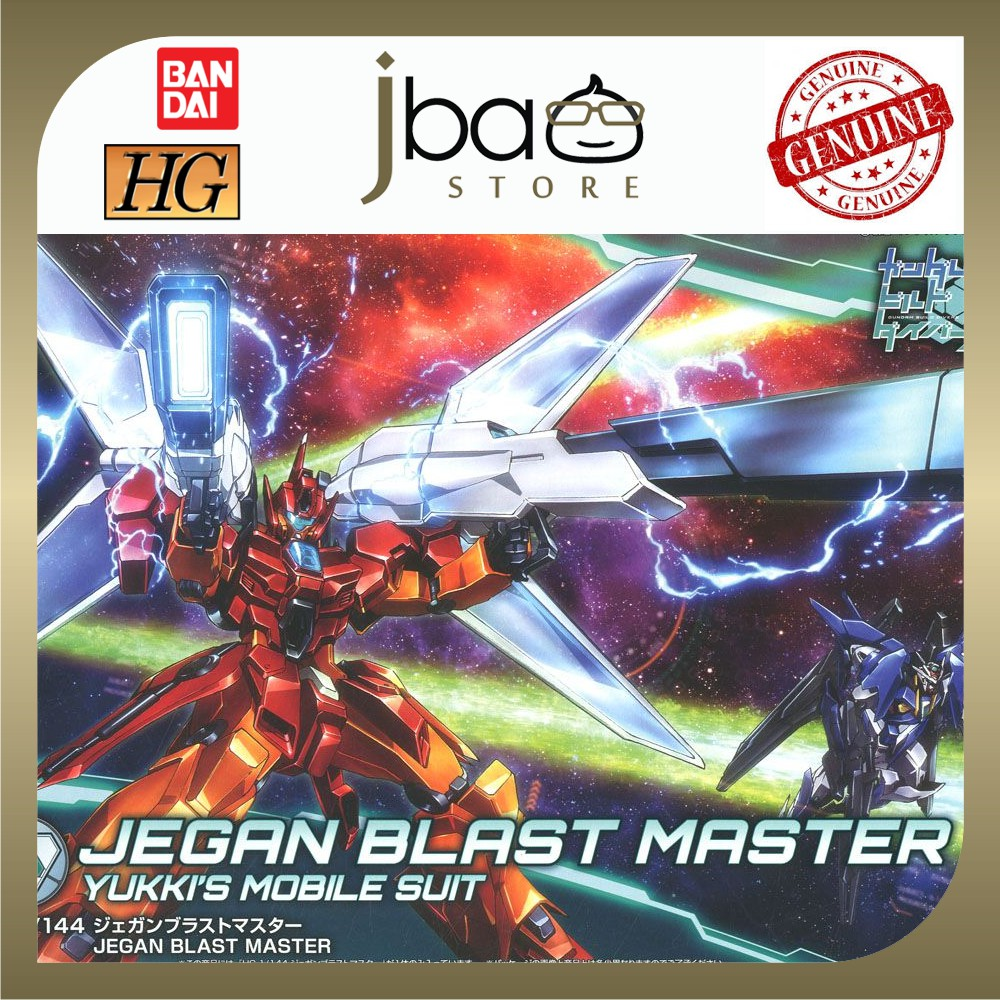 Bandai 1/144 Bandai Jegan Blast Master HG Build Divers 015 Yukki's Mobile