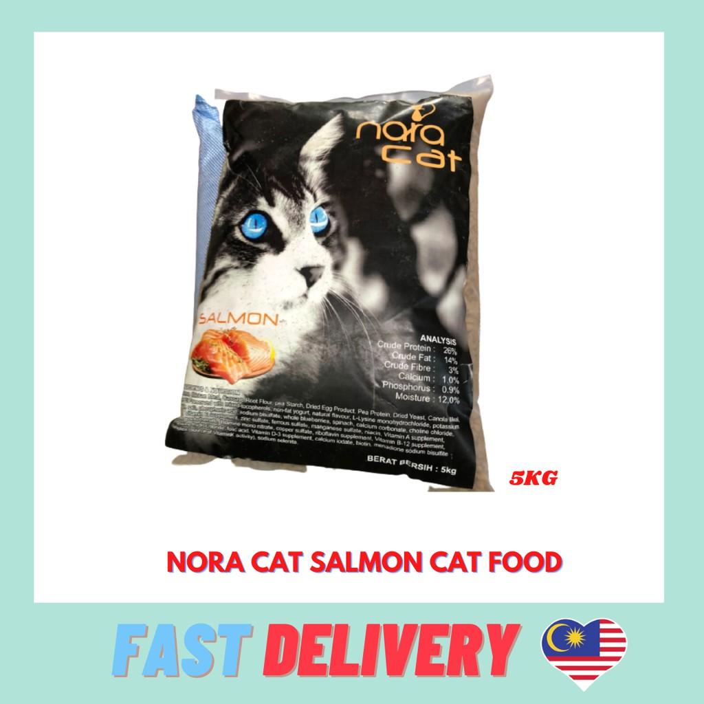 Nora Cat Food Salmon 5KG