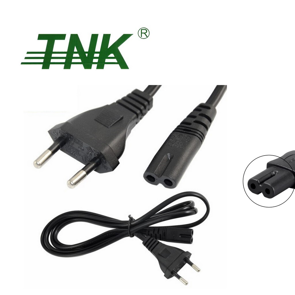 TNK 2 Pin AC Power Cord with Sirim - 1.5m (CZACTN-2382S)