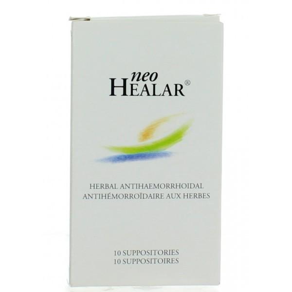Neo Healar 10 Suppositories