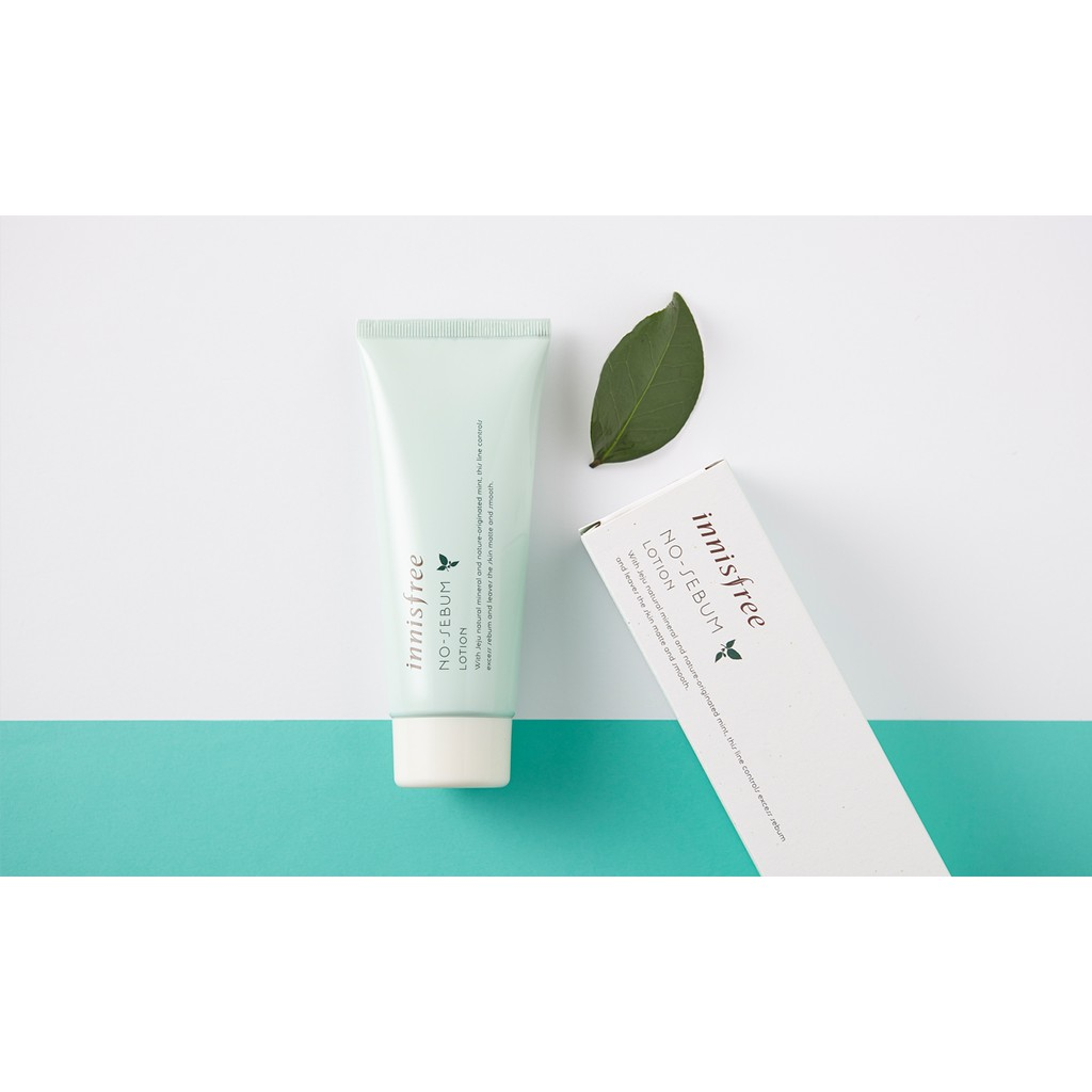 【CLEARANCE】Innisfree No Sebum Skin Care Toner Lotion Powder Cream