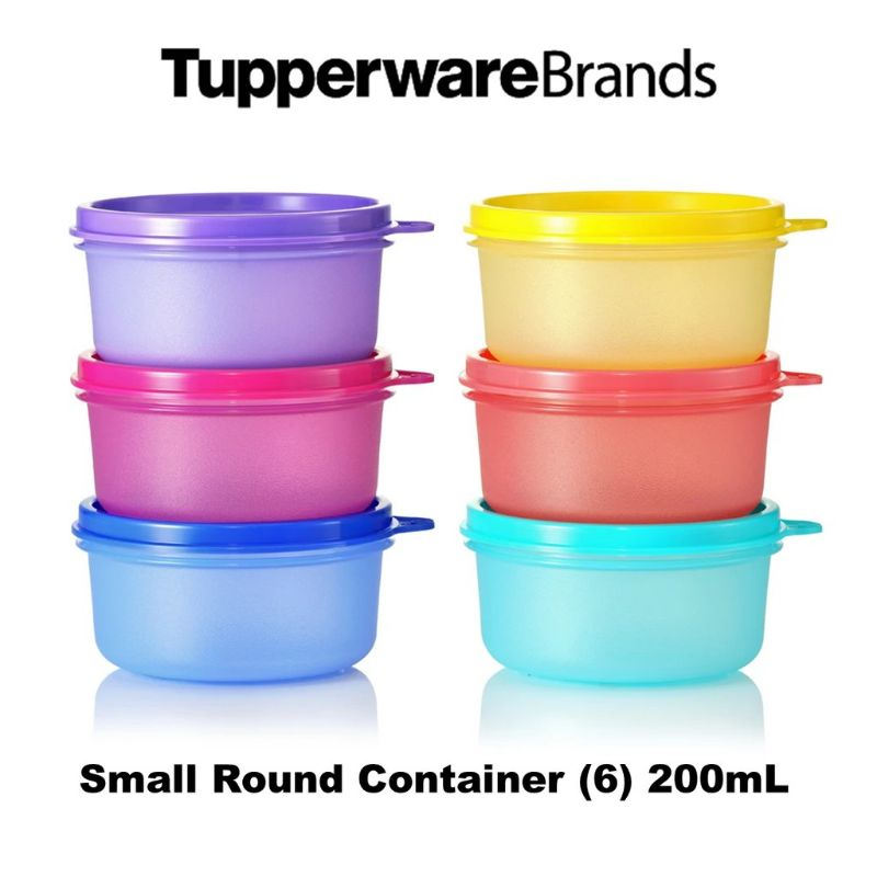 Tupperware Small Round Container Set (6)