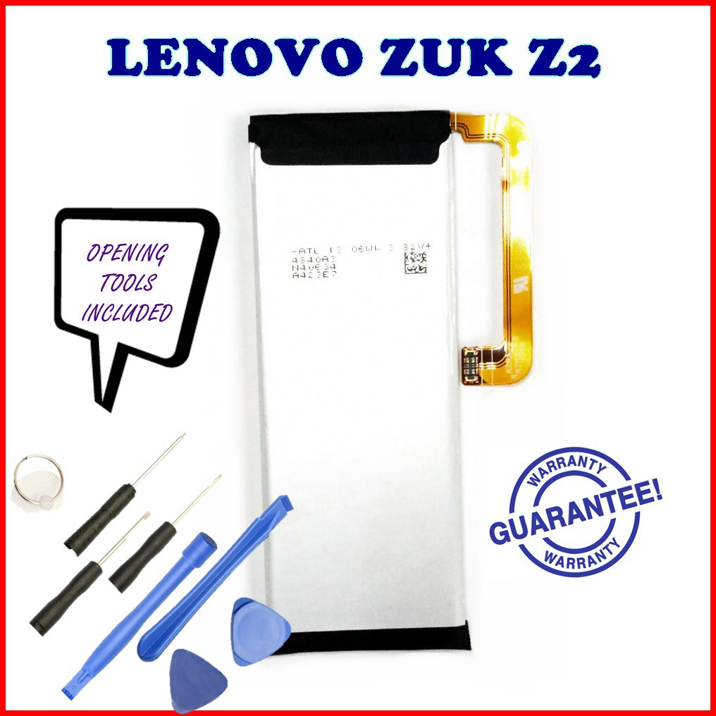 (NGS) 100% ORI Lenovo ZUK Z2 Battery BL268 3500mAh with opening tools