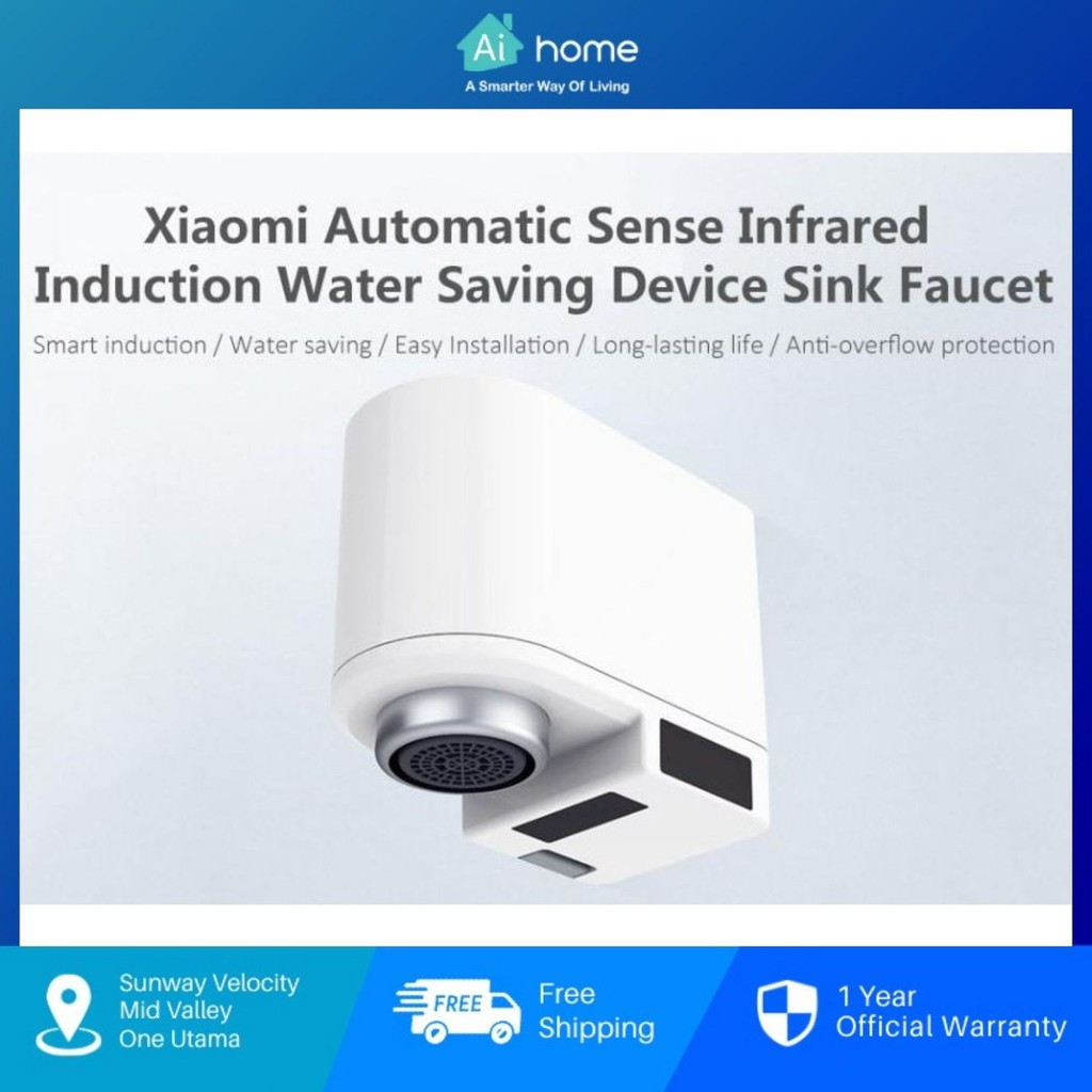 Zhajia Automatic Sense Infrared Induction Water Saver Sink Tap Faucet - Water Saving | Easy Installation [ Aihome ]