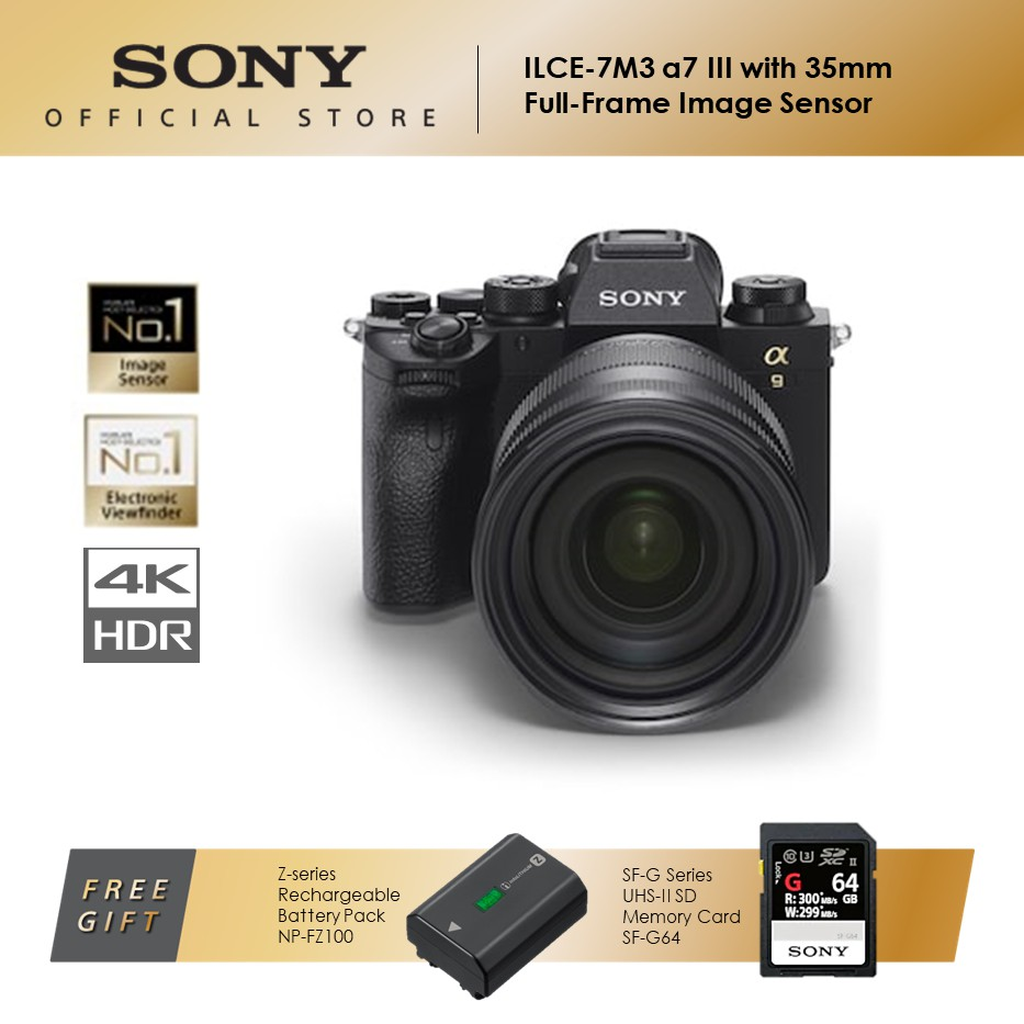 Sony ILCE-7SM3 Interchangeable Lens Cameras (Body only)