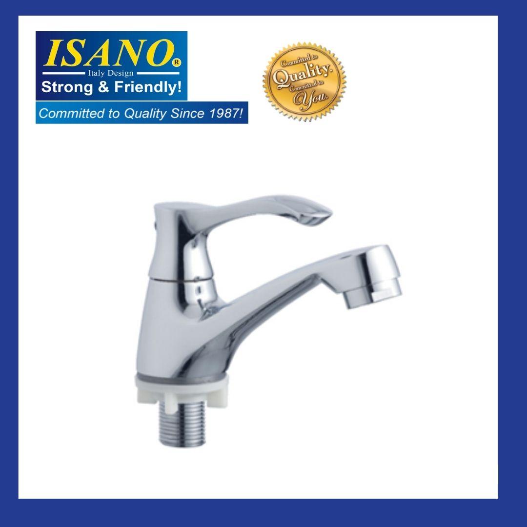 ISANO 1300BI Basin Pillar Straight Water Tap Kitchen Bathroom Washroom Toilet Sink Bib Air Kepala Paip Faucet