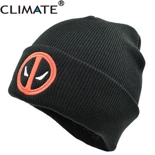 80dd1132 Warm Beanies Hat Deadpool Heros Hat Beanie Soft Hip Hop Black Warm ...
