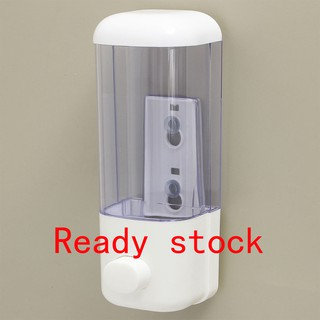 500ml Bathroom Kitchen Shower Wall Mount Soap Dispenser Shampoo Gel SALE
