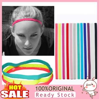 Black Nroom Cotton headband sports yoga gymnastics stretch headband unisex towel headband